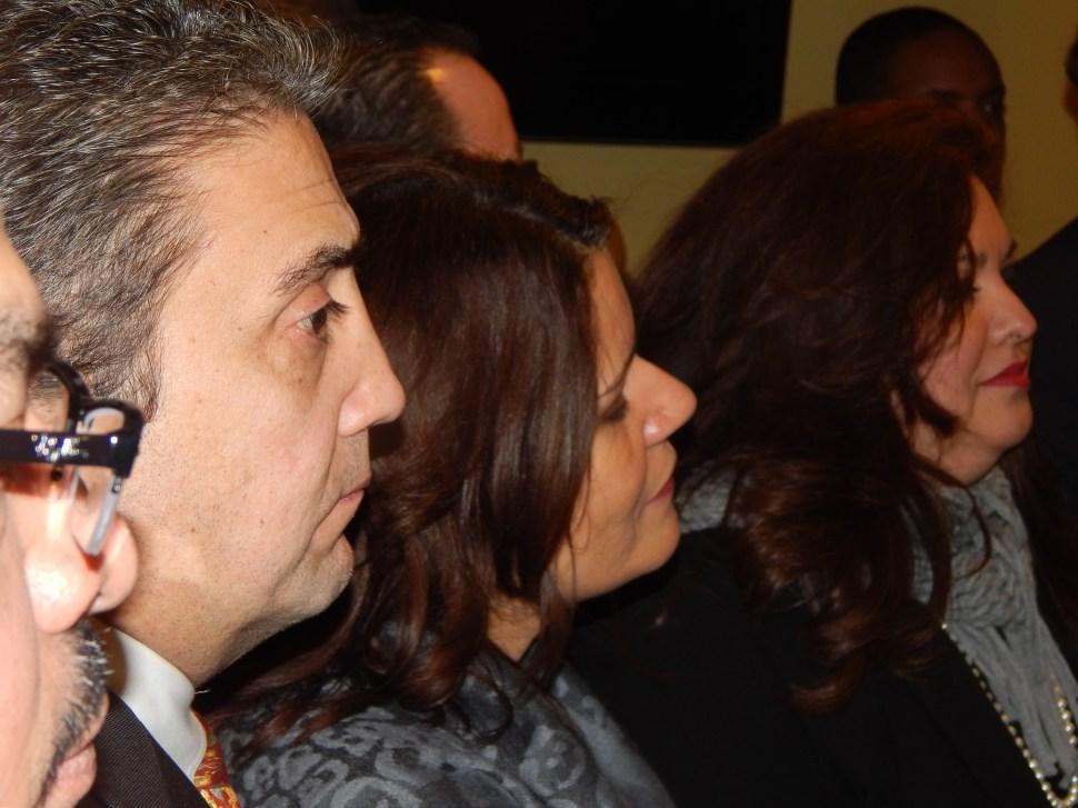 Diaz, center.
