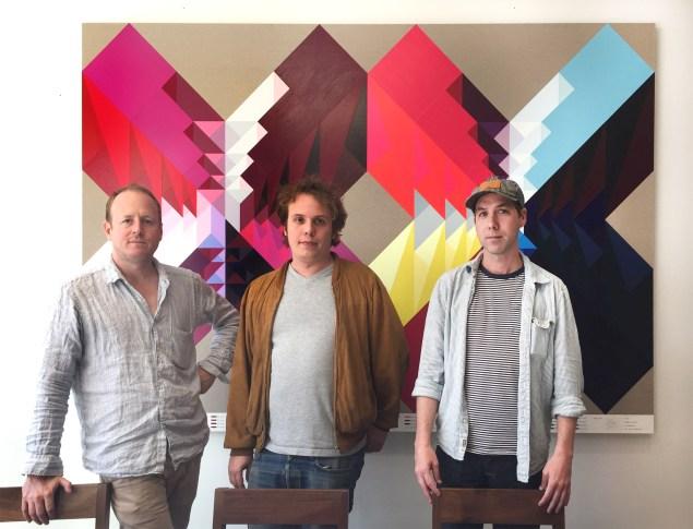 Marlborough Chelsea directors Pascal Spengemann, Max Levai, and Leo Fitzpatrick. (Photo: courtesy Marlborough Chelsea)