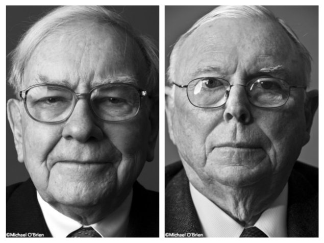Buffett and his brilliant partner Charlie Munger  (Photo: Michael O'Brien)