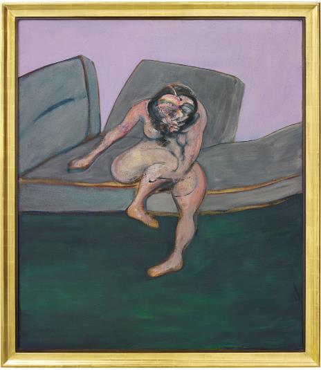 Francis Bacon, Seated Woman, (1961). The painting, included in Phillips' Contemporary Art Evening Sale, is estimated between $25 million and $35 million. (Photo: Phillips)