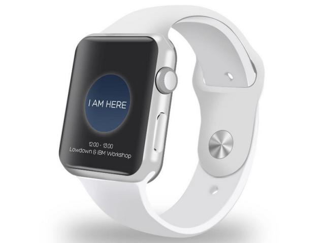 ARRIVED on Apple Watch (Photo: Lowdown Ltd.)