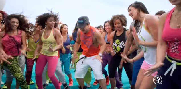 This would maybe be fun for 30 minutes. (Photo: Zumba-Cruise.com)