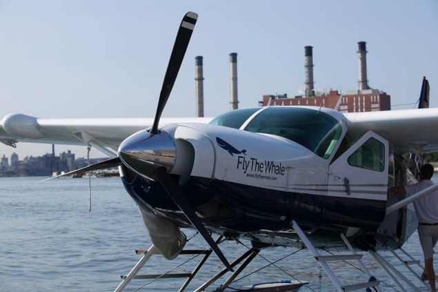 Perhaps ride a Hamptons-bound sea plane? (Photo: Facebook/Fly the Whale)