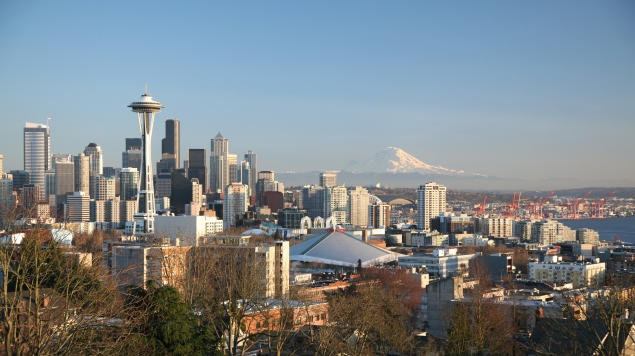 The Seattle skyline. (Photo: Wikimedia Commons)