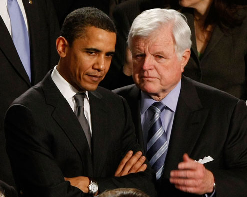 FILL IN THE BLANK: Ted Kennedy is to Barack Obama as L. Harvey Smith is to... [INSERT NAME HERE].