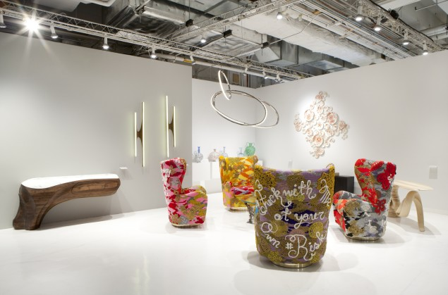 Todd Merrill Studio Contemporary at Collective Design 2015. (Photo: Clemens Kois)
