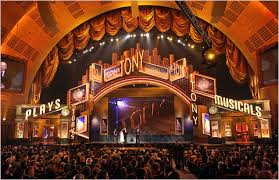 The Tony Awards at Radio City Music Hall, 2014.