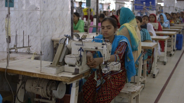 Garment workers in developing countries work in inhumane conditions. (Photo: The True Cost)