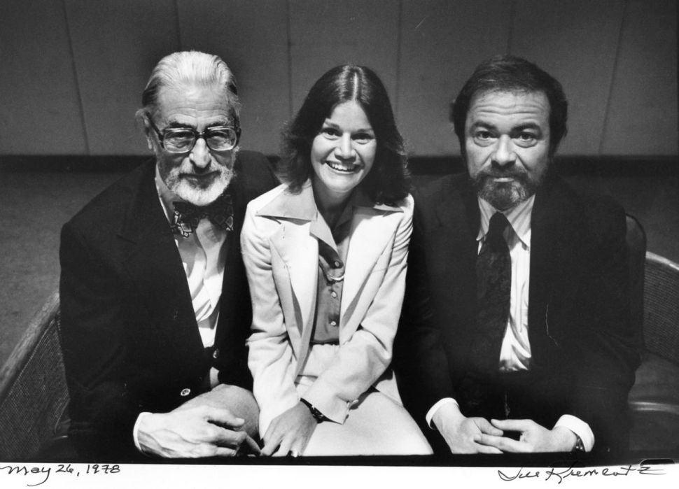 Dr. Seuss (Theodore Geisel), Judy Blume and Maurice Sendek photographed by Jill Krementz  on May 26, 1978 in Atlanta, Ga.
