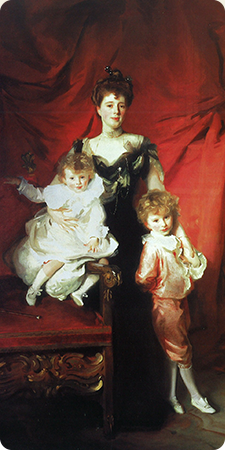 Mrs. Cazalet and Her Children Edward and Victor (1900-1901) by John Singer Sargent. (Photo: LACMA)