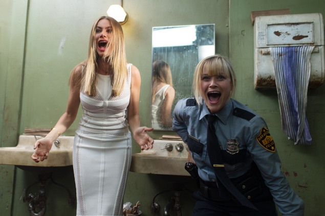 Sofía Vergara, left, and Reese Witherspoon in Hot Pursuit.