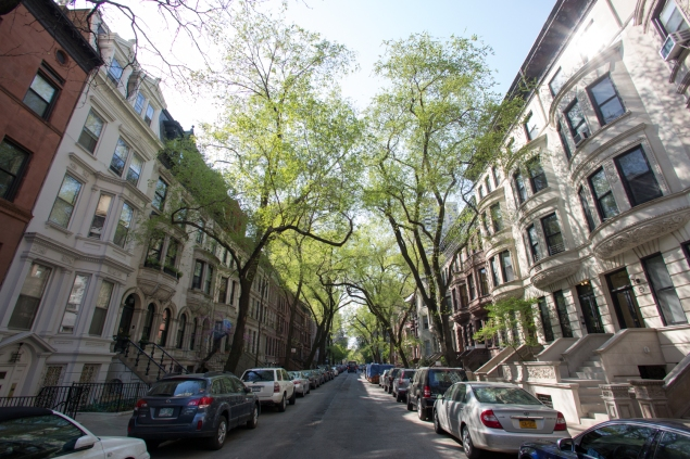 Leafy, quiet lanes, like West 95th Street, remind some of suburban life.