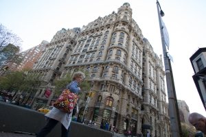The Ansonia, at Broadway and West 73rd Street is one of several iconic buildings that lend the neighborhood architectural panache.