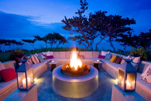 W Retreat and Spa, Vieques Island - Activities and Grounds - Fire Pit at Dusk