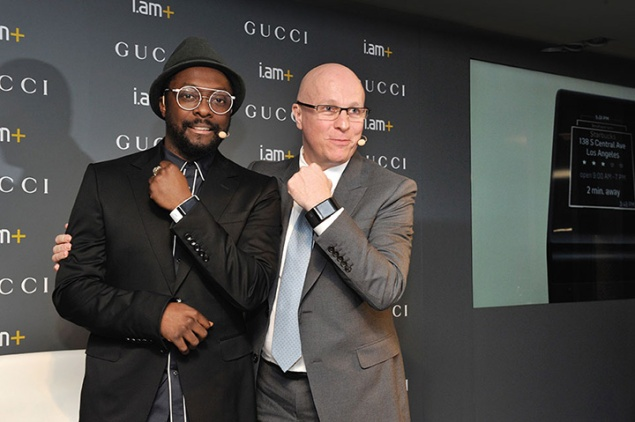 will.i.am-&-Gucci-Watches-&-Jewelry-president-and-CEO-Stephane-Linder