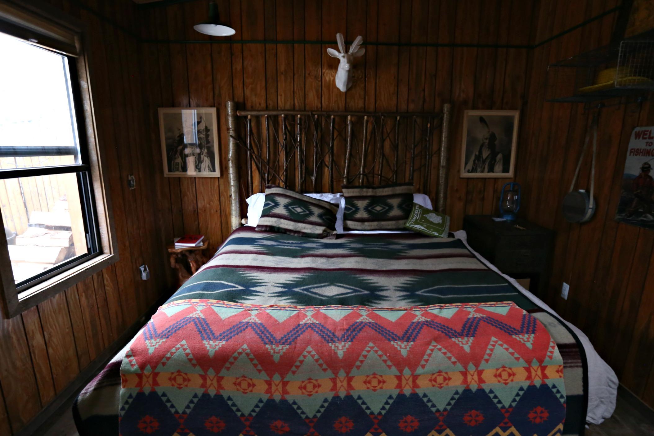 Urban Retreat Bedroom. (Photo: Courtesy Folk Rebellion).