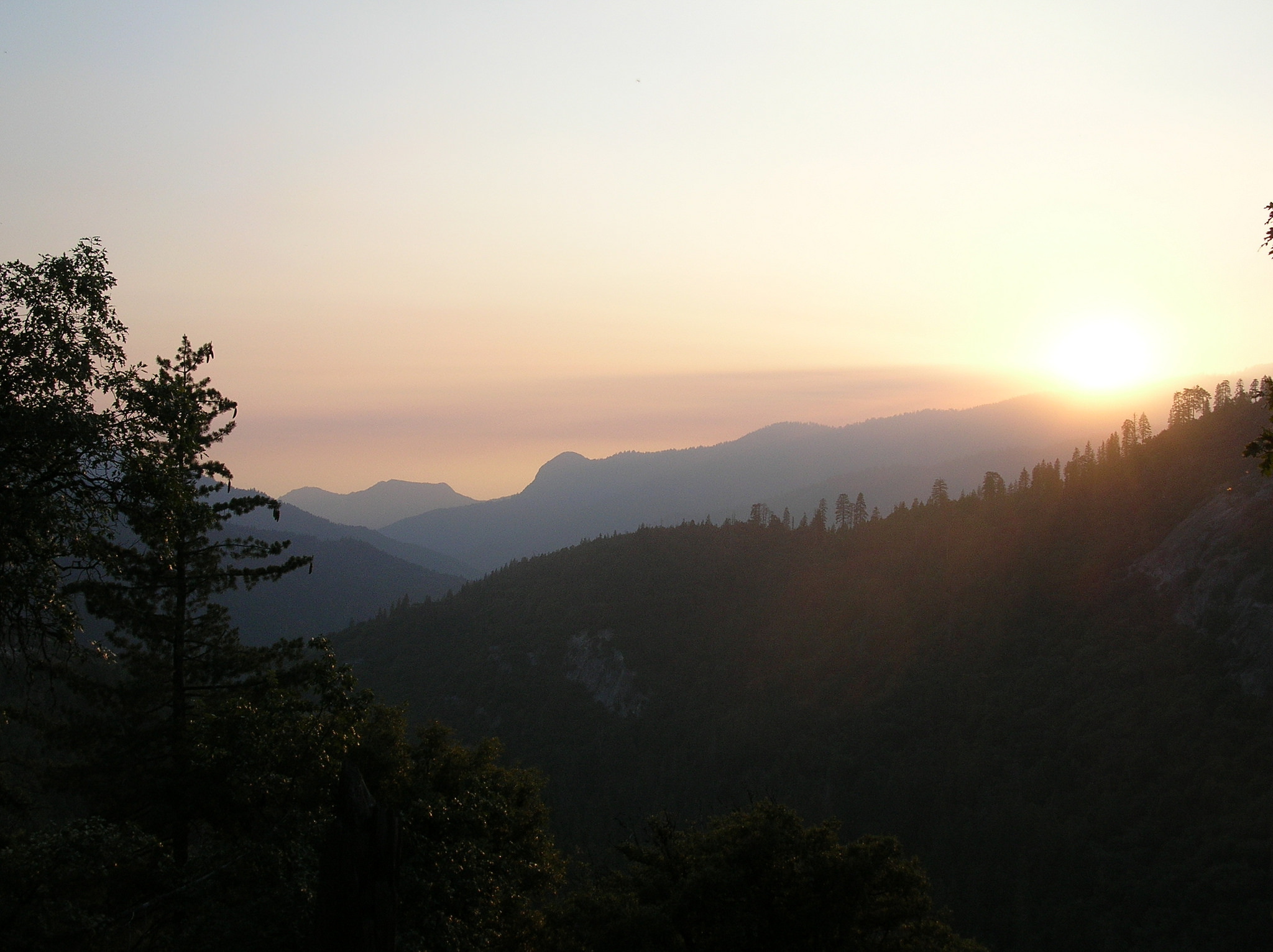Sequoia National Park at sunset. (Photo: HikingMike/Flickr)