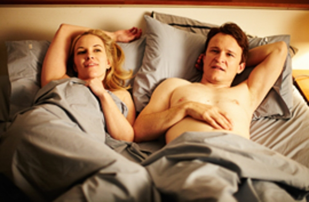 Kate Mulvany and Damon Herriman in The Little Death.
