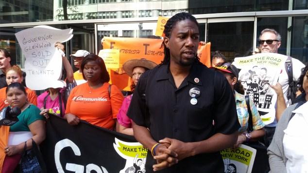 Councilman Jumaane Williams today. (Photo: Ross Barkan/New York Observer)