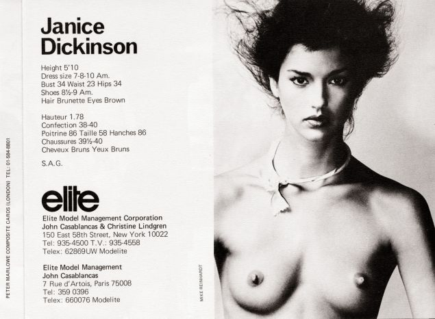 Janet Dickinson Eileen Ford