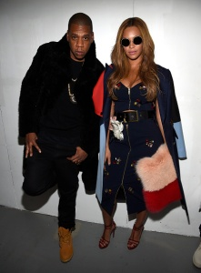 Jay-Z (L) and Beyonce back 22 Days Nutrition, a food-delivery service. (Photo by Kevin Mazur/Getty Images for adidas)