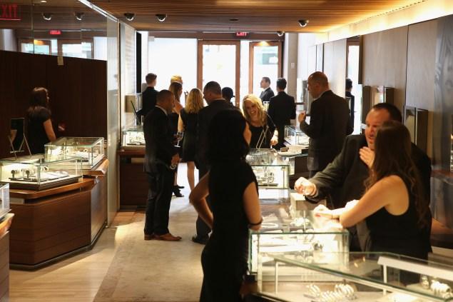 Customers at David Yurman last night.  (Photo: Neilson Barnard/Getty Images for David Yurman)