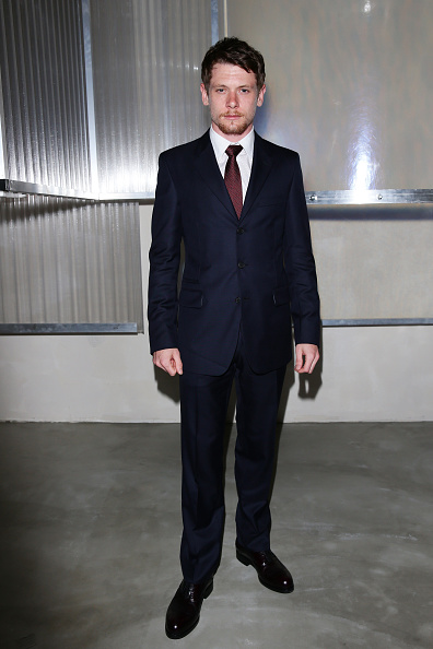 MILAN, ITALY - JUNE 21:  Jack O'Connell attends the Prada show during the Milan Men's Fashion Week Spring/Summer 2016 on June 21, 2015 in Milan, Italy.  (Photo by Vittorio Zunino Celotto/Getty Images for Prada)