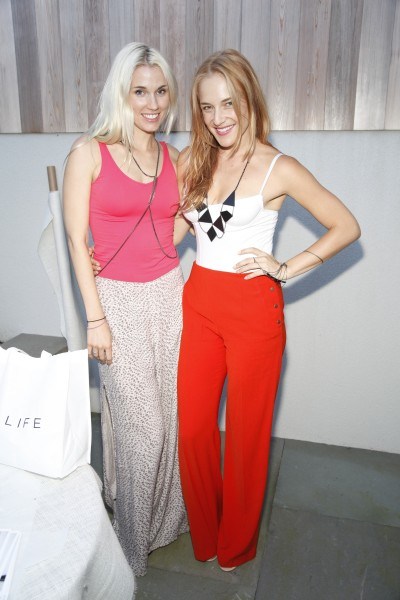 Sakara Life's co-owners Whitney Tingle, left, and Danielle Duboise  (Photo: ADRIEL REBOH /PatrickMcMullan.com)