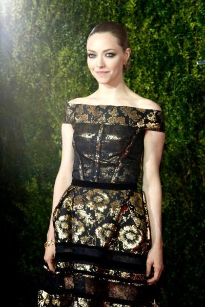 Amanda Seyfried== 69th Annual TONY Awards== Radio City Music Hall, NYC== June 7, 2015== ©Patrick McMullan== Photo - Jimi Celeste/PatrickMcMullan.com== ==