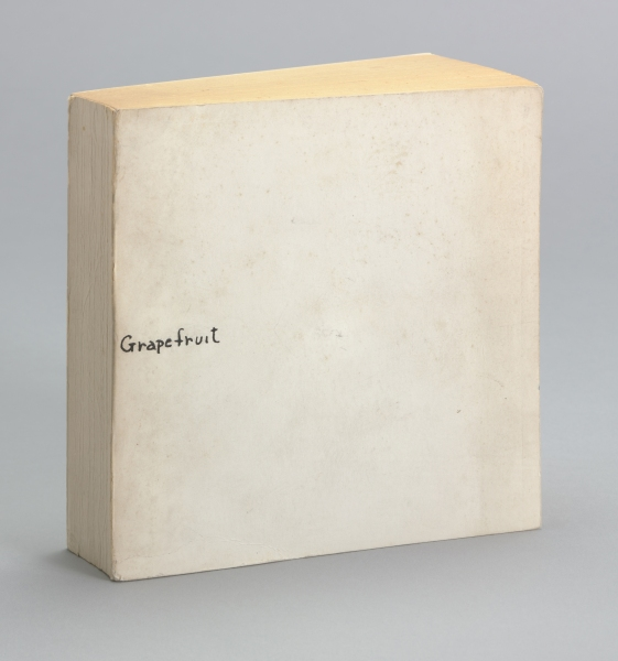 Grapefruit (1964) by Yoko Ono. (Photo: MoMA)