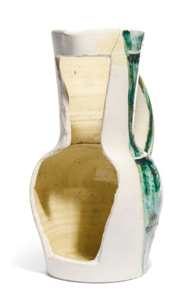 Vase positif négatif (1954). (Photo: Sotheby's)