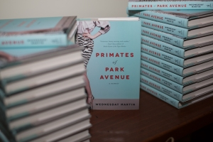 The book Primates of Park Avenue by Wednesday Martin. (Aaron Adler/ New York Observer)