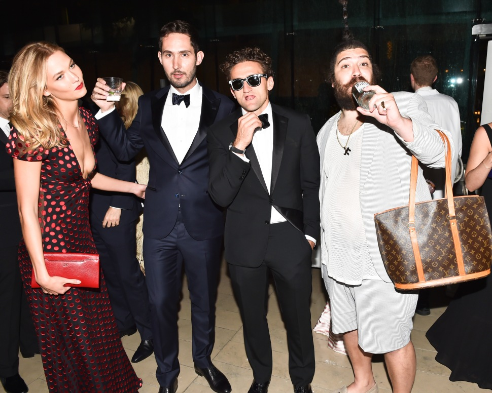The Fat Jew, Casey Neistat, Kevin Systrom, Karlie Kloss (Photo: BFA).