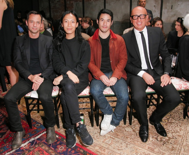 Alexander Wang, Joseph Altuzarra, Marco Bizzarri (Billy Farrell Agency)