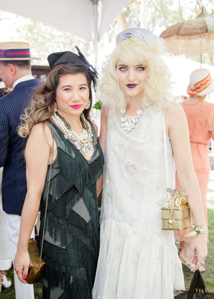 Fashionable guests at the 10th Annual Jazz Age Lawn Party. (Photo: Matteo Prandoni/BFA.com)