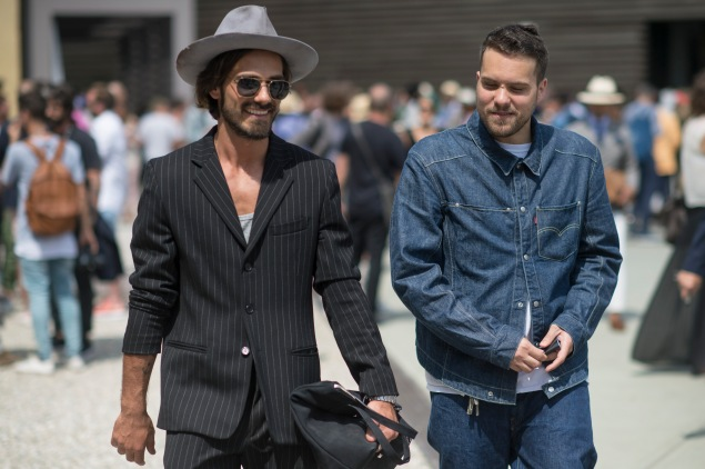 Giotto Calendoli, Walter D'Aprile, Street Style-mosphere