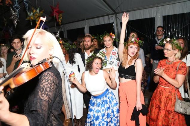 Paula Goldstein di Principe, Kelly Framel, Zachary Lind, Margot, Amirah Kassem