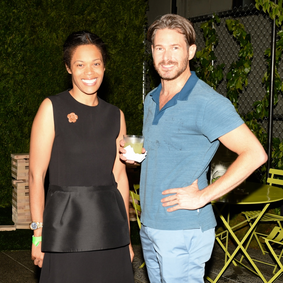 Bonnie Morrison, Bronson van Wyck (Photo: BFA).
