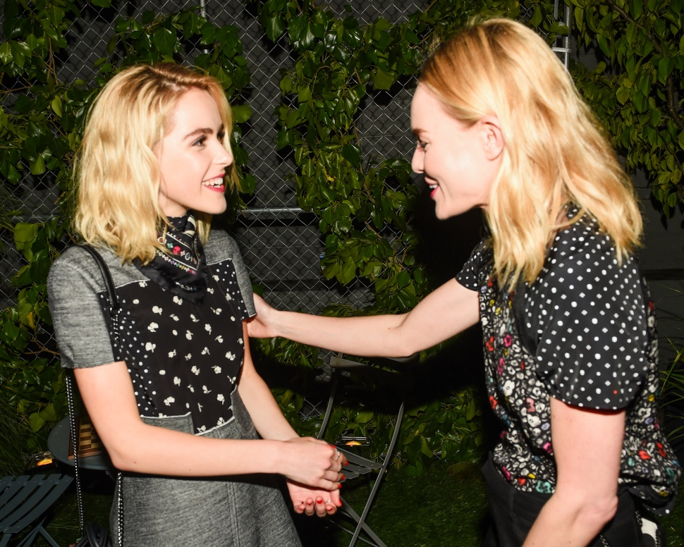 Kiernan Shipka, Kate Bosworth (Photo: BFA).