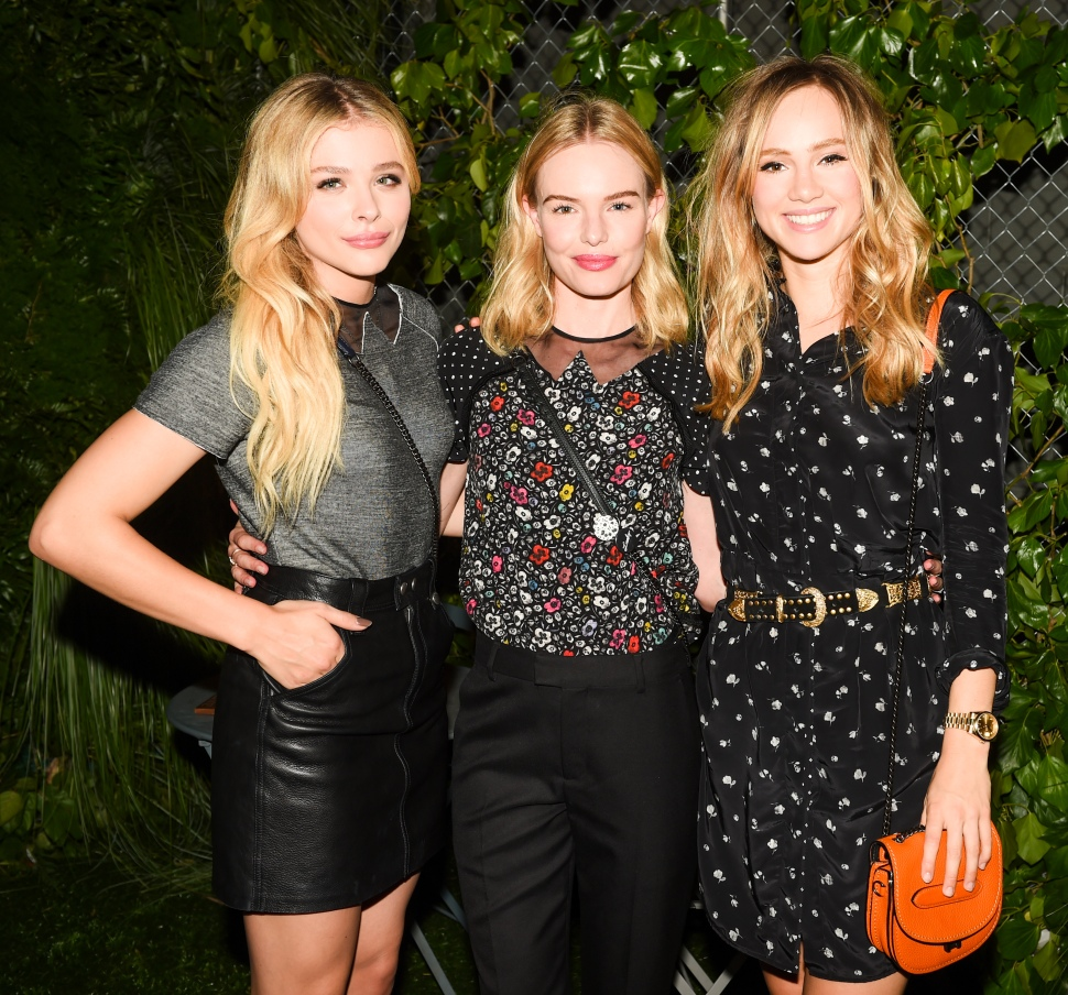 Chloe Grace Moretz, Kate Bosworth, Suki Waterhouse (Photo: BFA).