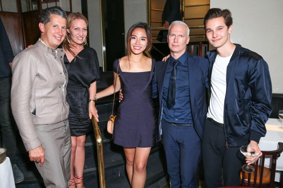 Stefano Tonchi, Diana Picasso, Kiki Liu, Klaus Biesenbach, Dorian Grinspan (Photo: BFA).
