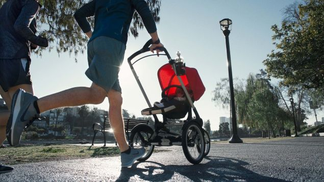 The Bugaboo Runner in action. (Photo: Bugaboo)
