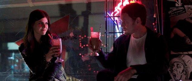 Alexandra Daddario and Anton Yelchin in Burying the Ex.