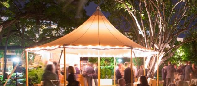 Blue Medium's event for the Davidoff Art Initiative, Miami Beach, 2014. (Photo: Courtesy of Davidoff Art Initiative)