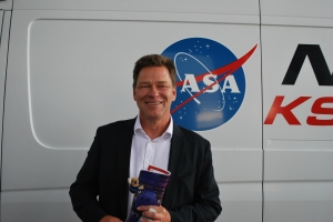 Hans Koenigsmann, the Vice President of Mission Assurance for SpaceX (Robin Seemangal)