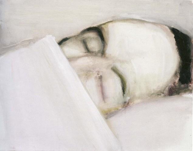Marlene Dumas, Death of the Author, 2003. (Photo: David Zwirner Gallery)