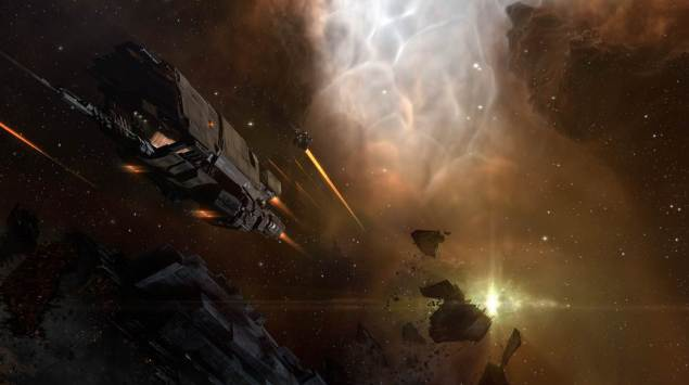 Battle imagery released with CCP's December 2014 Rhea update. (Image: Courtesy of CCP)