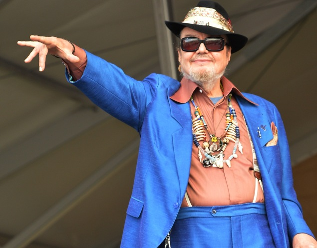 Dr. John and the Nite Trippers. (Photo: Rick Diamond/Getty Images)