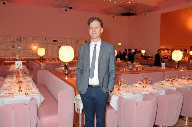 David Shrigley unveils gallery of his cartoons at Sketch Restaurant in London. (Photo: Courtesy of David M. Benett/Getty)