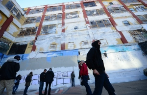 Last november, New York's 5Pointz was defaced with white walls, and in August, it was completely destroyed. And now, it's going to house two high rises. (Emmanuel Dunand/AFP/Getty Images)